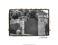 Old Bermuda Gate I Fine Art Print