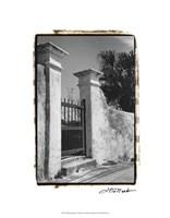 "Old Bemuda Gate II by Laura Denardo - 16"" x 20"""