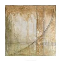"Iron and Lace III by Jennifer Goldberger - 24"" x 24"", FulcrumGallery.com brand"