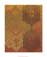 "Golden Henna II by Chariklia Zarris - 20"" x 24"""