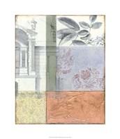 "Neo Victorian Collage II by Jennifer Goldberger - 24"" x 28"""