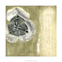 """Celadon in Bloom II by Jennifer Goldberger - 22"""" x 22"""""""
