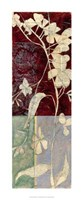 "Garden Whimsy V by Jennifer Goldberger - 14"" x 34"""