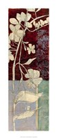 "Garden Whimsy VI by Jennifer Goldberger - 14"" x 34"""