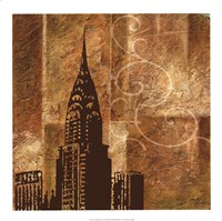 Urban Icon II Fine Art Print
