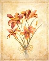 Textured Bouquet II Fine Art Print
