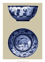 """Porcelain in Blue and White II by Vision Studio - 16"""" x 22"""", FulcrumGallery.com brand"""