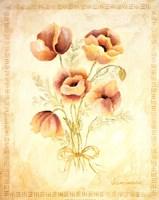 Textured Bouquet III Fine Art Print