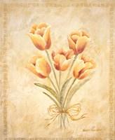 Textured Bouquet IV Fine Art Print