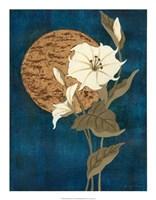 "Moonlit Blossoms I by Nancy Slocum - 17"" x 22"""