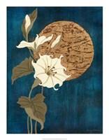 "Moonlit Blossoms II by Nancy Slocum - 17"" x 22"""