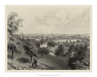 Scenic City Views III Fine Art Print