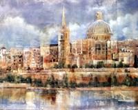 Old City Fine Art Print