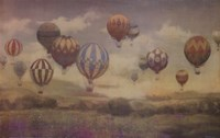 "Landing at Sundown by Jill O'Flannery - 38"" x 24"", FulcrumGallery.com brand"