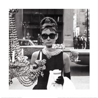 Audrey Hepburn (Window) Fine Art Print