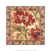 "Floral Daydream IV by Liz Jardine - 16"" x 16"""