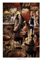 "Cafe by Didier Lourenco - 28"" x 39"""