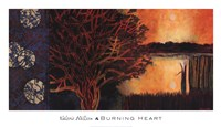 Burning Heart Fine Art Print