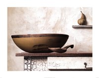 Bowl and Pear Fine Art Print