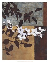 "Spring Blossoms I by Keith Mallett - 20"" x 26"""