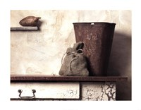 Pail with Yam Fine Art Print