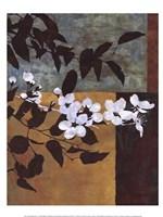 Spring Blossoms I Framed Print