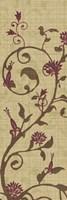 "Curly Grass I by Tandi Venter - 12"" x 36"", FulcrumGallery.com brand"