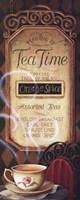 """Tea Time Menu by Lisa Audit - 8"""" x 20"""""""