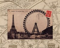 Destination Paris IV Fine Art Print