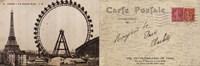 "Lettre de Paris II by Wild Apple Studio - 36"" x 12"""