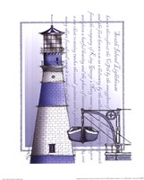 South Island Lighthouse Fine Art Print