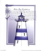 Eden Bay Lighthouse Fine Art Print