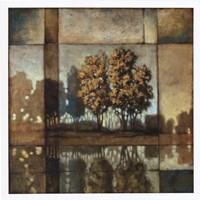 "Blue Shadows by Xavier - 26"" x 26"" - $26.99"