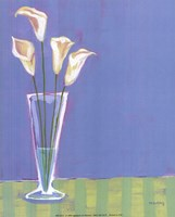 Lilies in Vase Fine Art Print