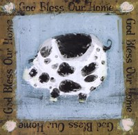 God Bless Our Home Fine Art Print