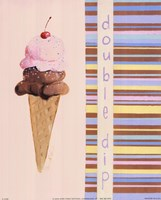 Double Scoop Fine Art Print