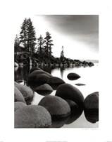 Sand Harbor I Framed Print