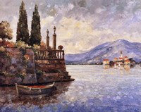 Evening Light on Lake Como Fine Art Print