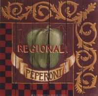 Peperoni Regionali Fine Art Print