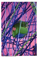 "Cable Car - technicolor by Marilu Windvand - 13"" x 19"""