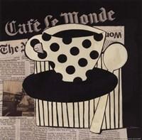 """Cafe Le Monde by Avery Tillmon - 10"""" x 10"""""""