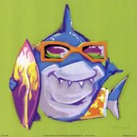 Look Out Shark Fine Art Print