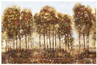 "Treelandscape II by Viola Lee - 37"" x 25"""
