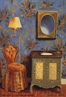 Le Bain Bleu II Fine Art Print