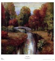 "Wilton Bridge by Adam Rogers - 25"" x 28"" - $23.49"