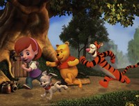 My Friends Tigger & Pooh Fine Art Print