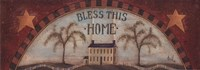 Bless This Home - with stars Fine Art Print