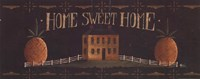 Home Sweet Home - tan house Fine Art Print