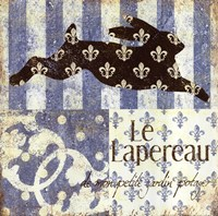 """Le Lapereau by Jo Moulton - 12"""" x 12"""""""