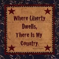 Where Liberty Dwells Fine Art Print
